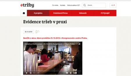 Evidence tržeb v praxi Praha