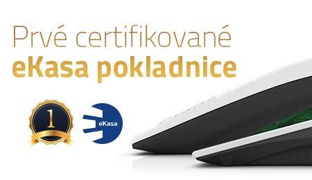 Prvé certifikované eKasa pokladnice