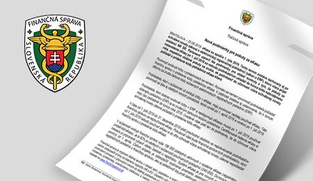 Nové podmienky pre pokuty za eKasu