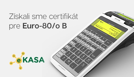 Získali sme certifikát k Euro-80/o B
