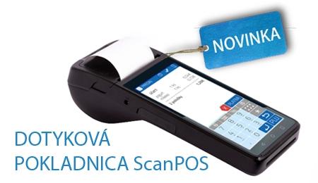 Účtujte mobilne a pohodlne s VRP ScanPOS