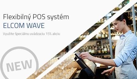 Flexibilný POS systém ELCOM Wave