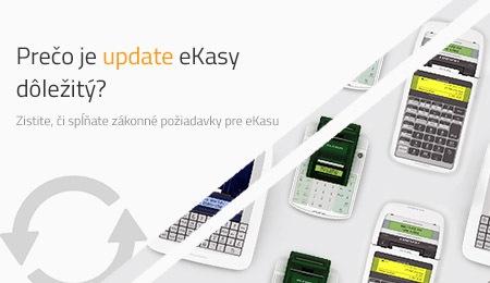 Prečo je update eKasy dôležitý?