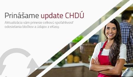 Prinášame update CHDÚ