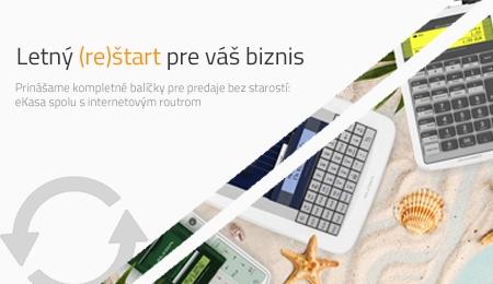Letná akcia: eKasa aj s pripojením na internet
