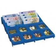 Mincovník CASH NOTES modrý