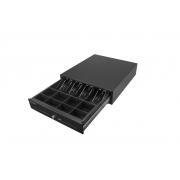 CD-530 K zásuvka s vnútrom otváraná na kľúč 12V - čierna