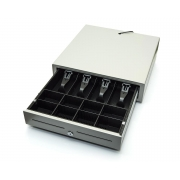 CD-840 K zásuvka s vnitřkem otevírána na klíč - bílá