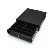 CD-880 K zásuvka s vnútrom otváraná na kľúč 12V - čierna
