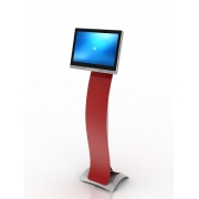 KIOSK holder for Uniq PC 190, 130 cm, red