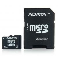 Micro SD karta 4 GB ADATA