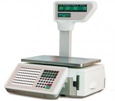 TM-15A2 Etiketovacia váha do 15 kg so stĺpikom