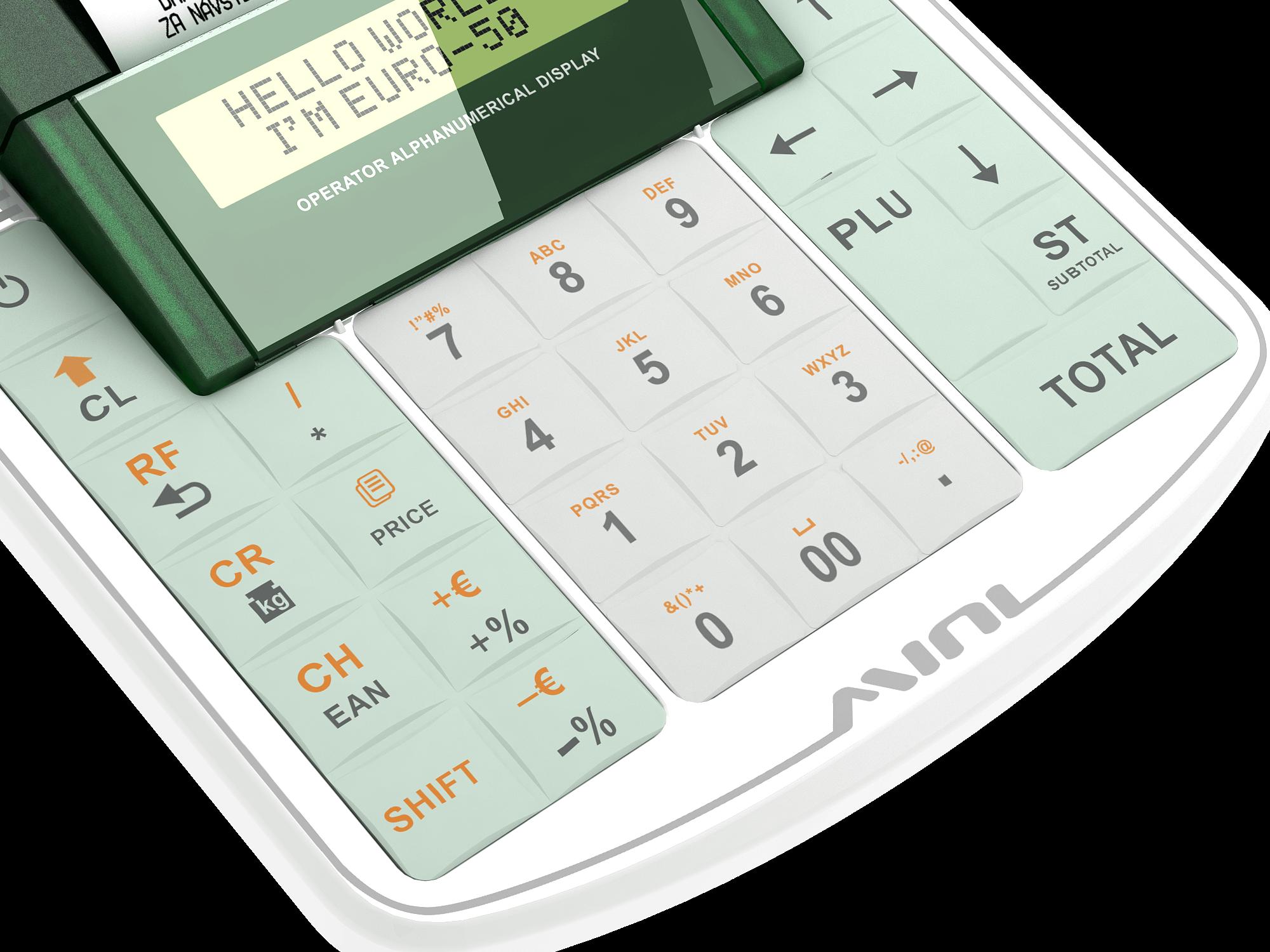 Kvalitná silikónová klávesnica s veľkými klávesami