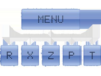 Intuitive menu