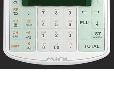 Hochwertige Silikontastatur mit großen Tasten