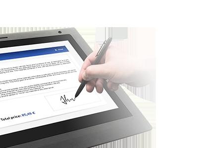 Bezpečný podpis priamo do dokumentu