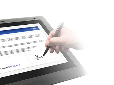 Bezpečný podpis přímo do dokumentu