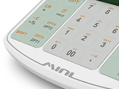 Kvalitní silikonová klávesnice s velkými klávesami