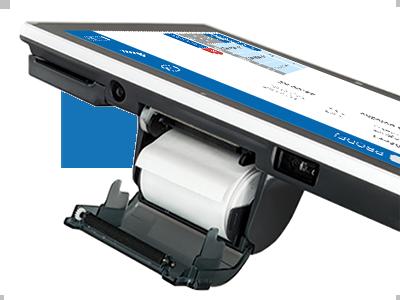 Dvoupalcová integrovaná tiskárna