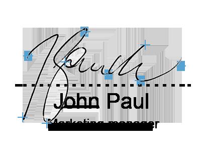 Virtually tamper-proof signature