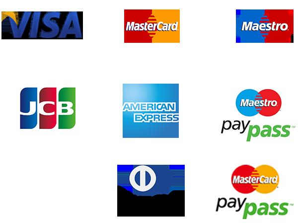 Široká podpora platobných kariet