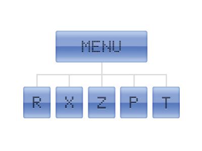 Intuitívne menu